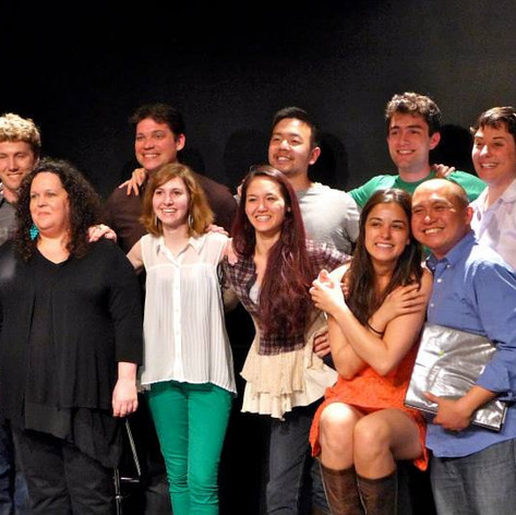 Classmates from the NYU Graduate Musical Theatre Writing Program