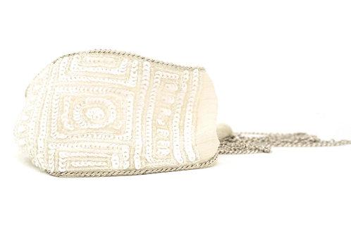 Ivory Chiffon Wrap