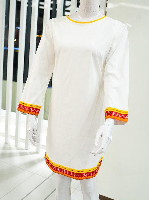 White Kurti (IMZ Attire)