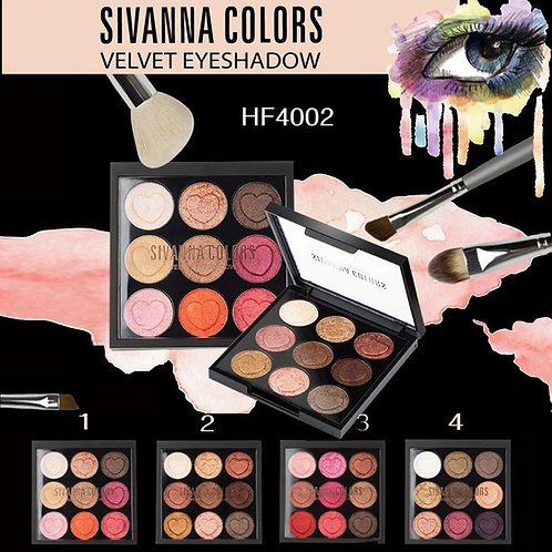 Sivanna Colors Velvet Eye Shadow