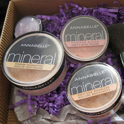 Annabelle Mineral Powdered Blush & Foundation