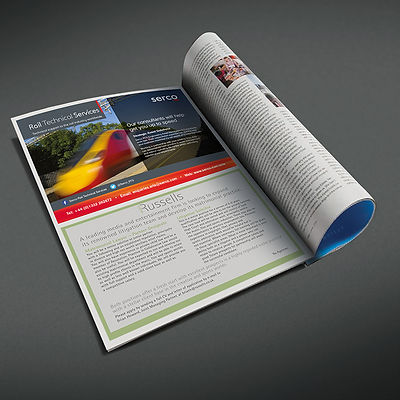 Serco RTS Half Page Press Advert