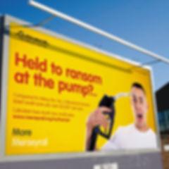 Merseyrail Advertising billboard