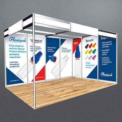 Plastipak Exhibition Stand Design