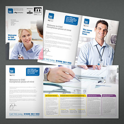 TAG Direct Mail pack Design