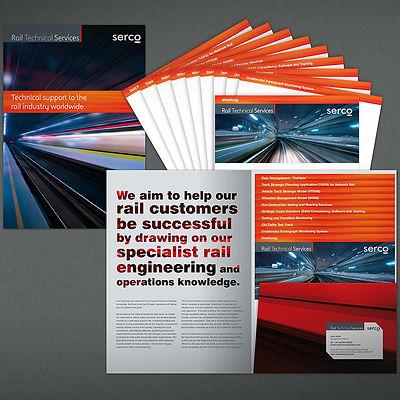 Serco RTS Corporate Brochure Design