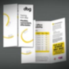 DBG Direct Mail Design