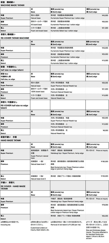 Price list YOKOYAMA TATAMI 2019.jpg