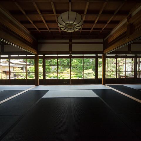 建仁寺黒畳 Ryosoku-in Temple, Kyoto