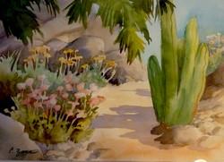 "Desert Path  11"" x 14"""