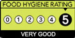 The Mallow Tailor 5 Star Hygiene rating certificate