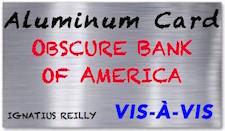humility and gratitude: aluminum foil