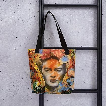 Frida Kahlo designed by Christina Schultz Tote bag