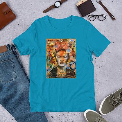 Frida Kahlo designed by Christina Schultz Short-Sleeve Unisex T-Shirt