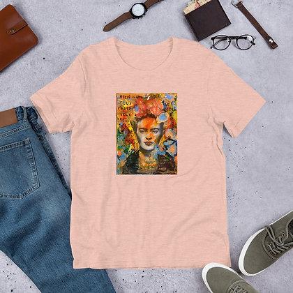 Frida Kahlo Artwork by Christina Schultz Short-Sleeve Unisex T-Shirt
