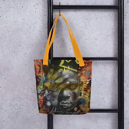 Jean Michel Basquiat designed by Christina Schultz Tote bag