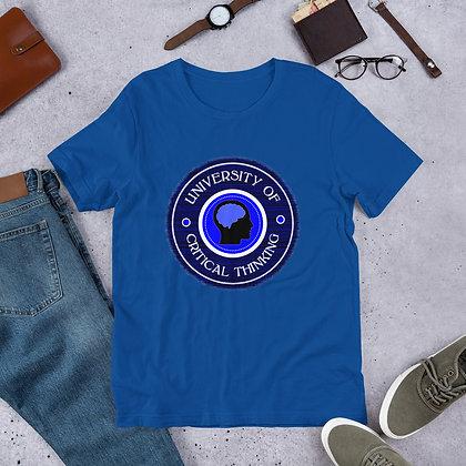 University of Critical Thinking Short-Sleeve Unisex T-Shirt
