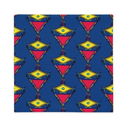 La Sirene Rainbow Veve Navy Blue Premium Pillow Case
