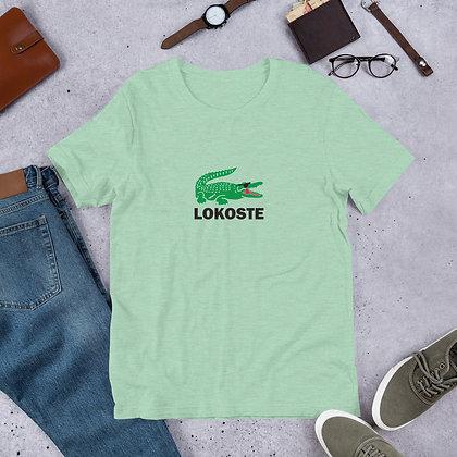 Lokoste designed by Loko Nation Haiti Short-Sleeve Unisex T-Shirt