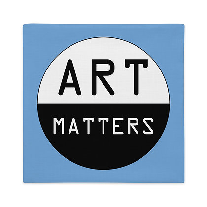 Art Matters Art Memes Gifts for Artist Premium Pillow Case