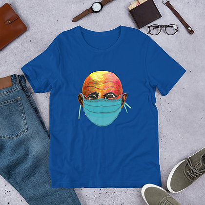 Gandi Corona Virus designed by Loko Nation Haiti Short-Sleeve Unisex T-Shirt