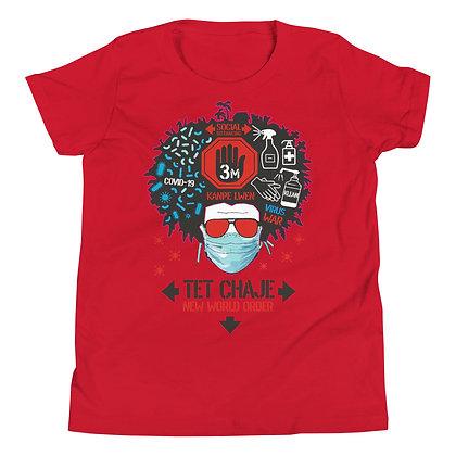 Tet Chaje New World Order designed by Loko Nation Youth Short Sleeve T-Shirt