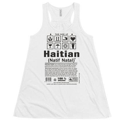 Haitian Natif Natal designed by Loko Nation Women's Flowy Racerback Tank
