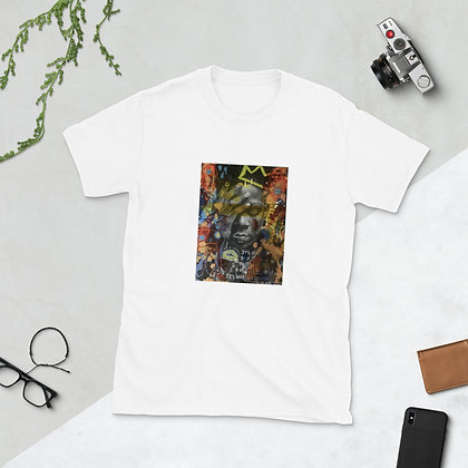 Basquiat original artwork by Christina Schultz Short-Sleeve Unisex T-Shirt
