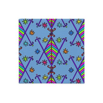 Ayizan Veve Print Graphic Premium Pillow Case