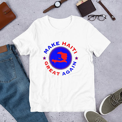 Make Haiti Great Again Short-Sleeve Unisex T-Shirt