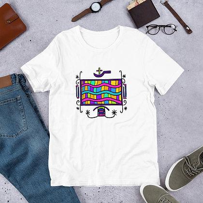 Kouzin Zaka Rainbow Veve Graphic Short-Sleeve Unisex T-Shirt
