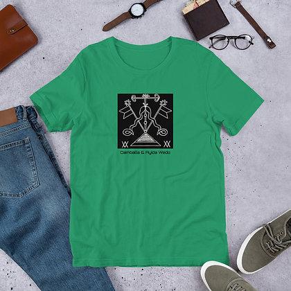 Damballa & Ayida Wedo Veve Short-Sleeve Unisex T-Shirt