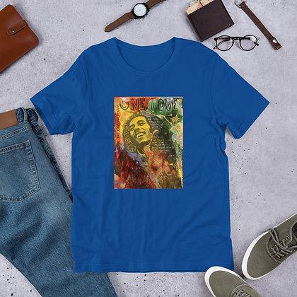 Bob Marley designed by Christina Schultz Short-Sleeve Unisex T-Shirt