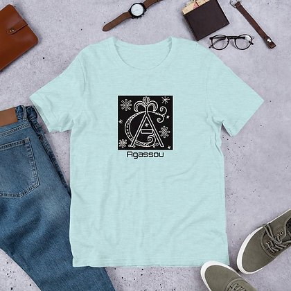 Agassou Veve Short-Sleeve Unisex T-Shirt