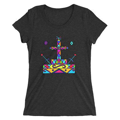 Baron Samedi Veve Ladies' short sleeve t-shirt