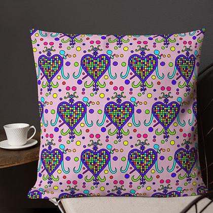Erzulie Dantor Rainbow Veve Pink Premium Pillow