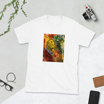Bob Marley design by artist Christina Schultz Short-Sleeve Unisex T-Shirt