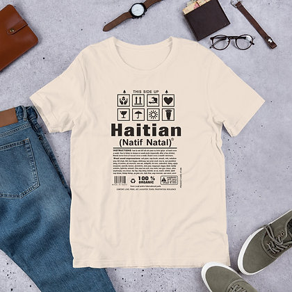Haitian Natif Natal designed by Loko Nation Haiti Short-Sleeve Unisex T-Shirt