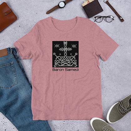 Baron Samedi Veve Short-Sleeve Unisex T-Shirt