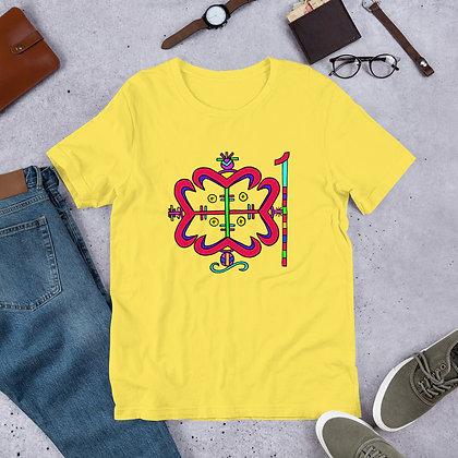 Papa Legba Rainbow Veve Short-Sleeve Unisex T-Shirt