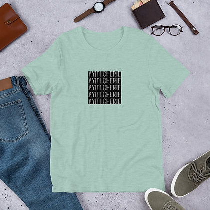 Ayiti Cherie Black and White Short-Sleeve Unisex T-Shirt