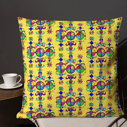 Marassa Rainbow Veve Yellow Premium Pillow
