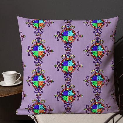 Simbi Rainbow Veve Lilac Premium Pillow