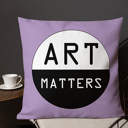 Art Matters Art Meme Gift ideas for Artist Premium Pillow
