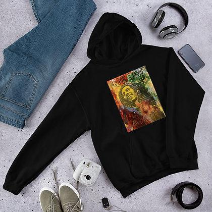 Bob Marley designed by Christina Schultz Unisex Hoodie