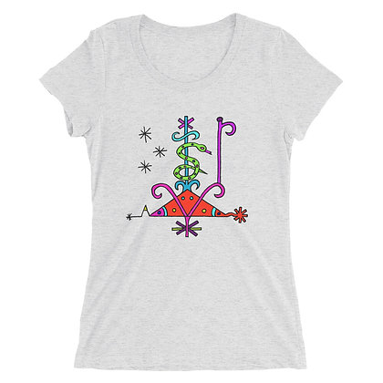 Papa Loko Veve Ladies' short sleeve t-shirt