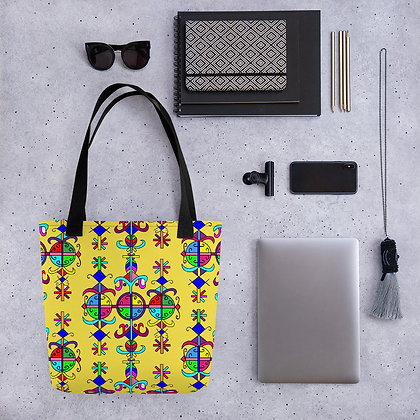 Marassa Veve Graphic Design Haiti Tote bag