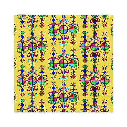Marassa Rainbow Yellow Premium Pillow Case