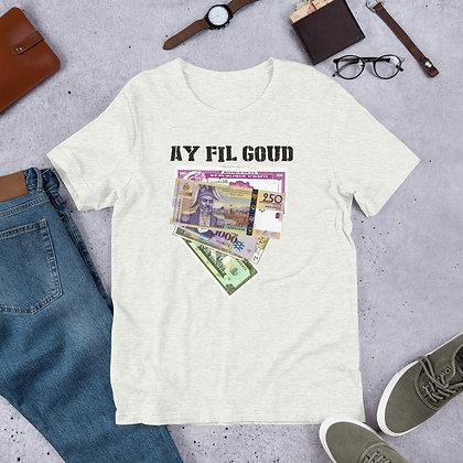 Ay Fil Goud designed by Loko Nation Haiti Short-Sleeve Unisex T-Shirt