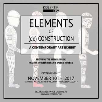 """""""Elements of (de) construction"""